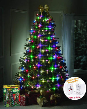【HOT SALE】48 LED CHRISTMAS TREE LIGHTS TREE DAZZLER - 65% OFF