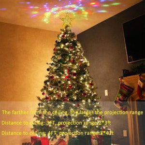 40% OFF - 2019 Projection Star Christmas Tree Topper