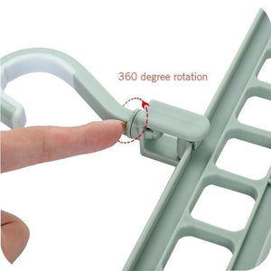 50% OFF-BUY MORE SAVE MORE- Rotate Anti-skid Folding MAGIC CLOTHES HANGER