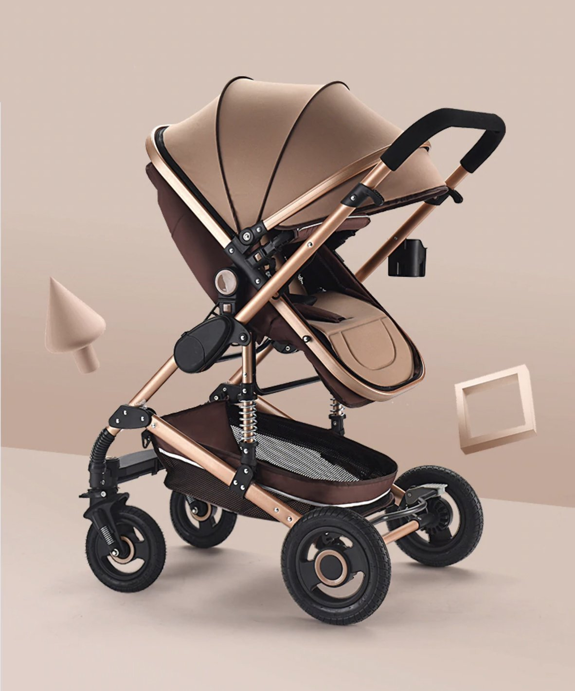 (50% Off - Today Only) Premium 3-in-1 Stroller