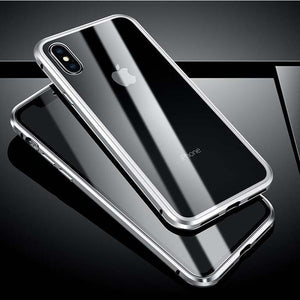 Iphone Double-sided Glass Magnetic King Mobile Phone Cases (Order Today and Save 50%)