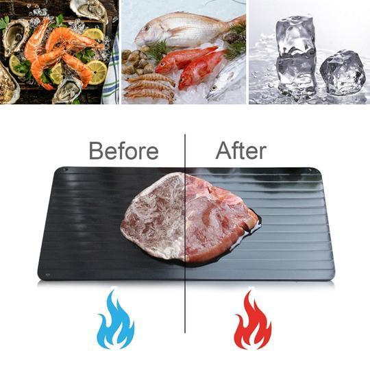 (50% Off - Today ONLY) DEFROST TRAY NO ELECTRICITY (BUY 2 FREE SHIPPING)