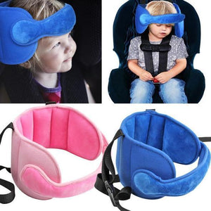 Kids Car Set Head Supporter with Adjustable Belt (75% Off Today Only)