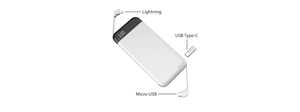 POWERPACK - 10,000MAH WIRELESS CHARGING POWERBANK