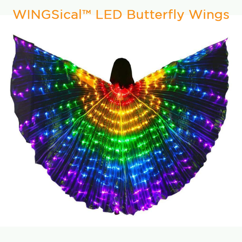 WINGSICAL™ LED BUTTERFLY WINGS