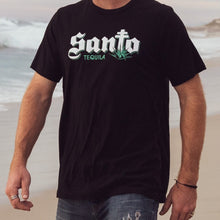 Load image into Gallery viewer, Santo T-shirt Black