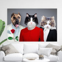 Load image into Gallery viewer, The Celebrities - Custom Pet Canvas