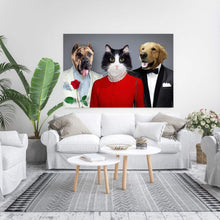 Load image into Gallery viewer, The Fab Three - Custom Pet Canvas