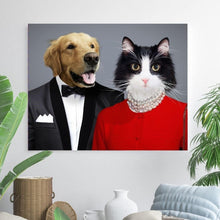 Load image into Gallery viewer, The BFF - Custom Pet Canvas