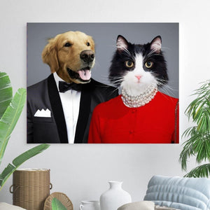 The BFF - Custom Pet Canvas