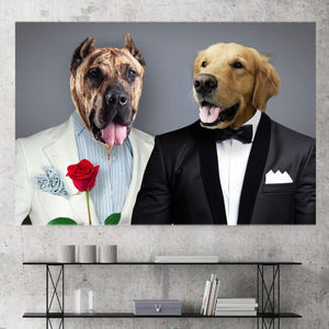 The Bro Code - Custom Pet Canvas