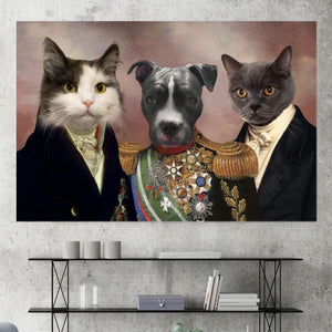 The Charmers - Custom Pet Canvas