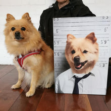 Load image into Gallery viewer, The Crook - Custom Pet Canvas