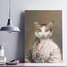 Load image into Gallery viewer, Classy Lady - Custom Pet Canvas