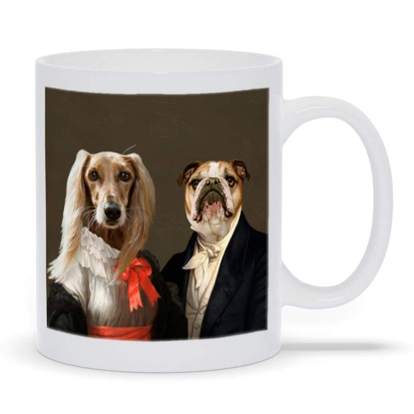Miss Charming and the Aristocrat - Custom Pet Mug