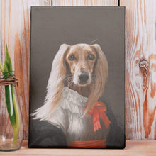 Load image into Gallery viewer, Miss Charming - Custom Pet Canvas