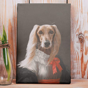 Miss Charming - Custom Pet Canvas