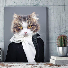 Load image into Gallery viewer, Miss Glamour - Custom Pet Canvas