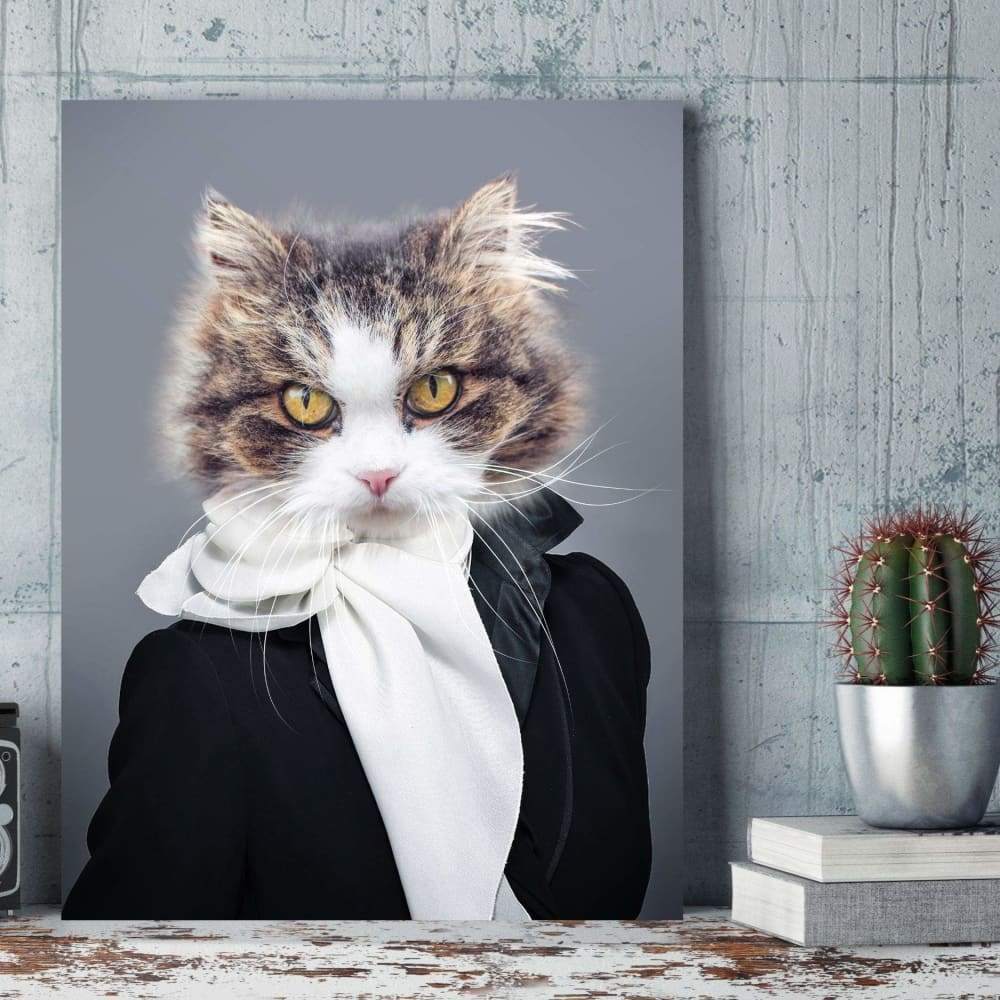 Miss Glamour - Custom Pet Canvas