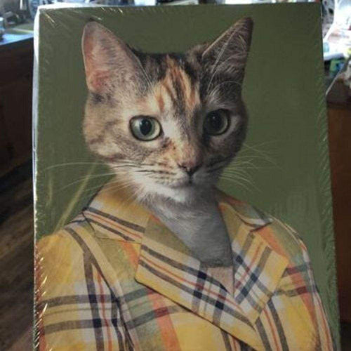Miss Independent - Custom Pet Canvas