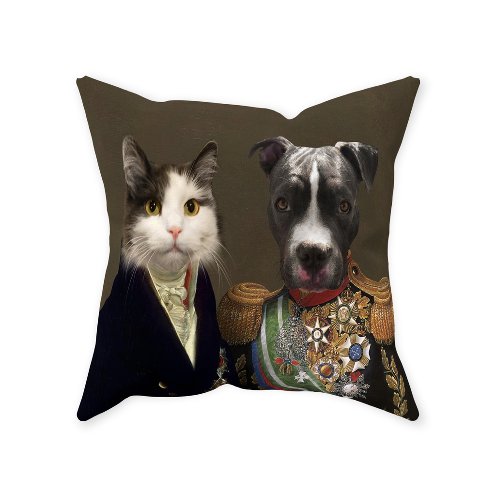 The Governor and Supreme Commander - Custom Pet Pillow