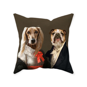 Miss Charming and The Aristocrat - Custom Pet Pillow