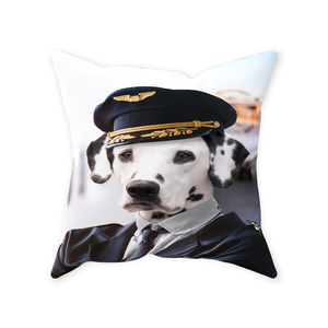 The Pilot - Custom Pet Pillow