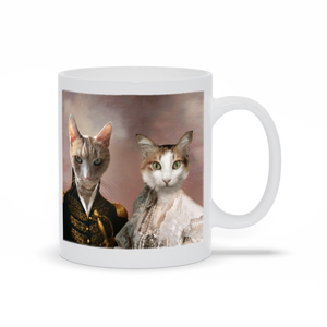 The Admiral and Classy Lady - Custom Pet Mug