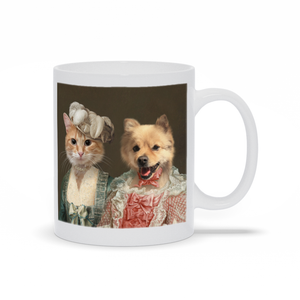 Miss Elegance and The Courtesan - Custom Pet Mug
