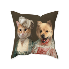 Load image into Gallery viewer, Miss Elegance and The Courtesan - Custom Pet Pillow