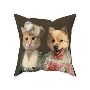 Miss Elegance and The Courtesan - Custom Pet Pillow