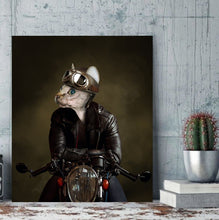 Load image into Gallery viewer, The Rider - Custom Pet Canvas