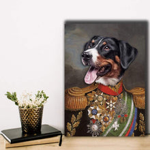 Load image into Gallery viewer, Supreme Commander - Custom Pet Canvas