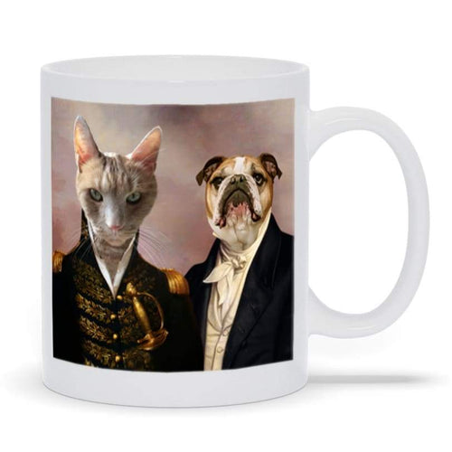 The Admiral and the Aristocrat - Custom Pet Mug