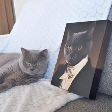 Load image into Gallery viewer, The Aristocrat - Custom Pet Canvas