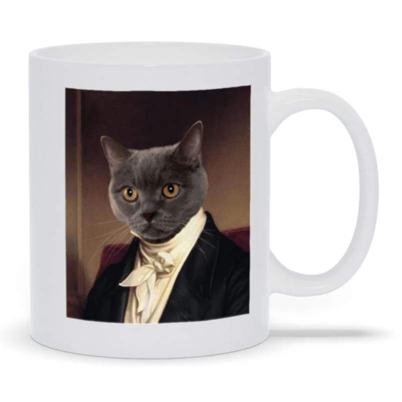 The Aristocrat - Custom Pet Mug