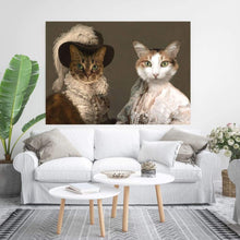 Load image into Gallery viewer, The Baroness and Classy Lady - Custom Pet Canvas