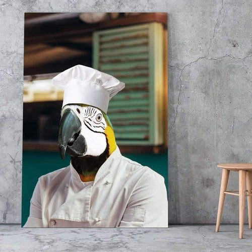 The Chef - Custom Pet Canvas