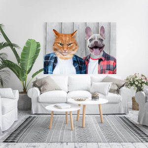 The Cool Guys - Custom Pet Canvas