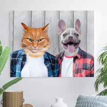 Load image into Gallery viewer, The Cool Guys - Custom Pet Canvas