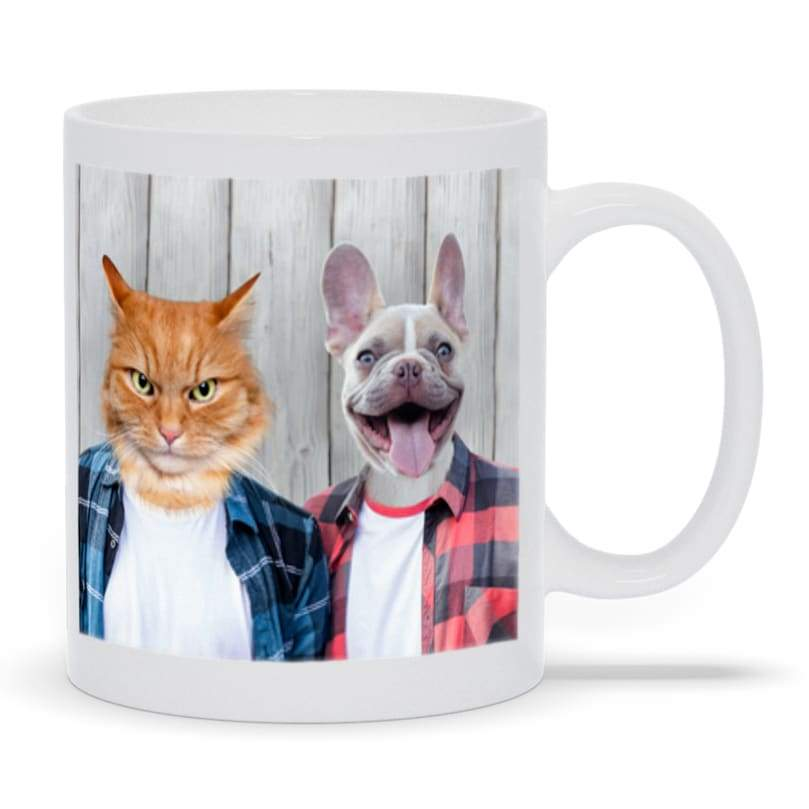 The Cool Guys - Custom Pet Mug
