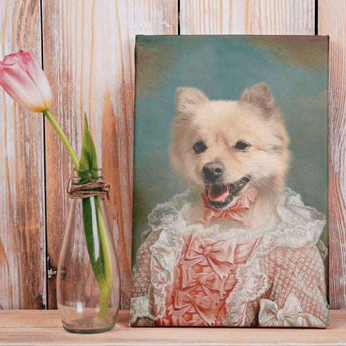 The Courtesan - Custom Pet Canvas