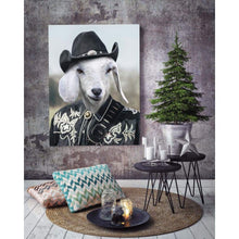 Load image into Gallery viewer, The Cowboy - Custom Pet Canvas