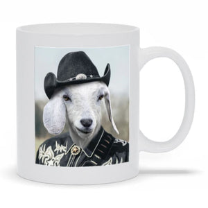 The Cowboy - Custom Pet Mug