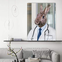 Load image into Gallery viewer, The Doctor - Custom Pet Canvas