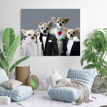 Load image into Gallery viewer, The Dream Team - Custom Pet Canvas