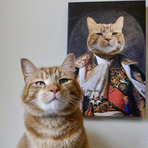 The Emperor - Custom Pet Canvas