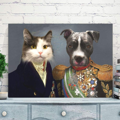 The Governor and Supreme Commander - Custom Pet Canvas