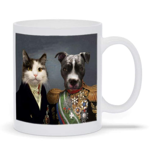 The Governor and Supreme Commander - Custom Pet Mug