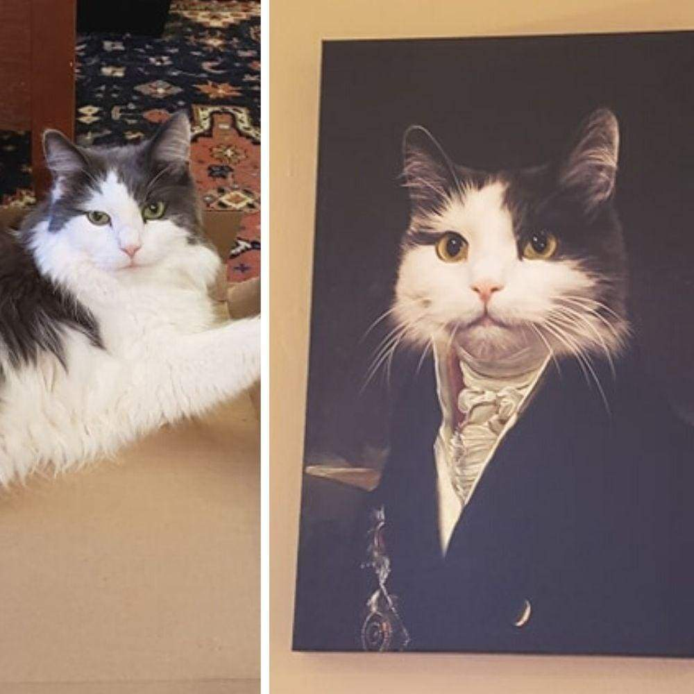 The Governor - Custom Pet Canvas